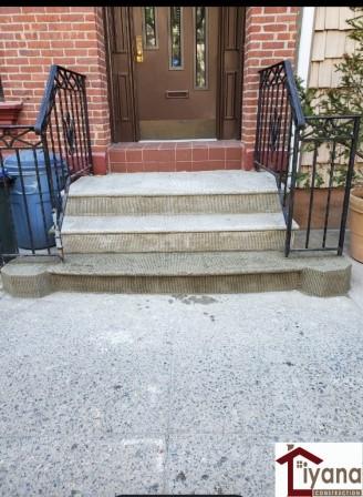 brownstone stoop restoration